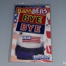 Coleccionismo Cromos antiguos: PHOSKITOS - ANTIGUO CROMO BAMBERS USA - BYE BYE - EN BLISTER SIN ABRIR AÑOS 90. Lote 143597794