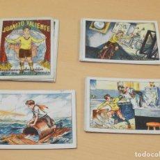 Coleccionismo Cromos antiguos: ** JUANITO VALIENTE CHOCOLATES AMATLLER COMPLETA **. Lote 143641290