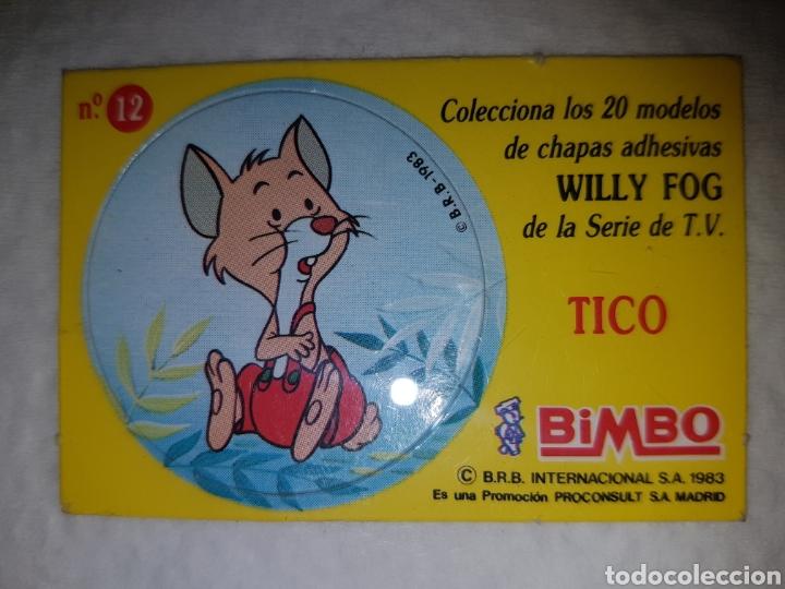 WILLY FOG TICO BIMBO 1983 (Coleccionismo - Cromos y Álbumes - Cromos Antiguos)