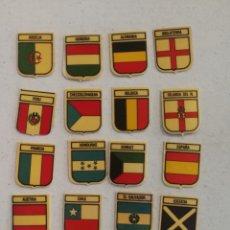 Coleccionismo Cromos antiguos: LOTE CROMOS ESCUDOS PANRICO MUNDIAL ESPAÑA 82. Lote 145009682