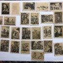 Coleccionismo Cromos antiguos: CROMOS ANTIGUOS. FIGURAS DE CERVANTES. SERIE ESPECIAL . EDITA THOMAS (H.1940?). Lote 145129956