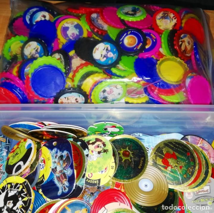 LOTE DE TAZOS O CROMOS PROMOCIONALES (CASI 3 KILOS) - BOX 14 (Collectable Paper - Stickers and Sticker Albums - Stickers)