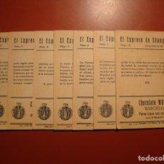Coleccionismo Cromos antiguos: CHOCOLATE MUNDIAL. Lote 145530346