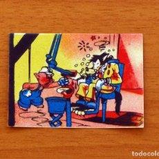 Coleccionismo Cromos antiguos: LOS TRES CERDITOS Y CAPERUCITA ROJA CONTRA EL LOBO FEROZ -CROMO, Nº 183 - BRUGUERA 1945-NUNCA PEGADO. Lote 146120082