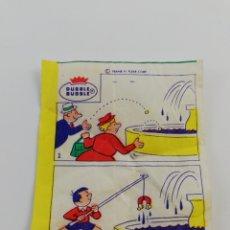 Coleccionismo Cromos antiguos: CROMO CHICLE DUBBLE BUBBLE CHISTE GRAFICO COMIC VIÑETA CHICLES. Lote 146392814