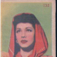 Coleccionismo Cromos antiguos: CROMO MARIA MONTEZ 135 - 4,5 X 7 CM - ESTRELLAS DE LA PANTALLA 1948. Lote 146420166