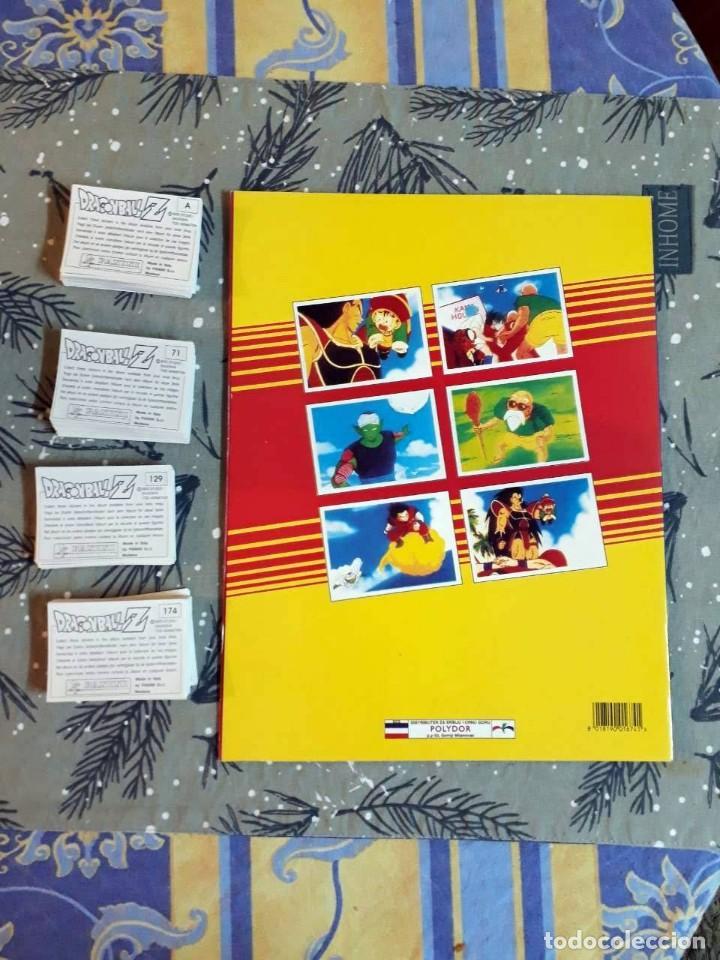 Coleccionismo Cromos antiguos: PANINI DRAGONBALL Z COLECCION COMPLETA ALBUM vacio + TODOS cromos Dragon Ball Z 02 - Foto 3 - 146444974