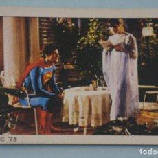 Coleccionismo Cromos antiguos: CROMO DE SUPERMAN I SIN PEGAR Nº 121 AÑO 1979 DEL ALBUM SUPERMAN I DE FHER. Lote 179334946