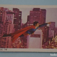 Coleccionismo Cromos antiguos: CROMO DE SUPERMAN I SIN PEGAR Nº 127 AÑO 1979 DEL ALBUM SUPERMAN I DE FHER. Lote 179334951