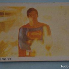 Coleccionismo Cromos antiguos: CROMO DE SUPERMAN I SIN PEGAR Nº 147 AÑO 1979 DEL ALBUM SUPERMAN I DE FHER. Lote 179334973