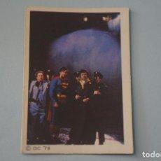 Coleccionismo Cromos antiguos: CROMO DE SUPERMAN I SIN PEGAR Nº 177 AÑO 1979 DEL ALBUM SUPERMAN I DE FHER. Lote 179335015