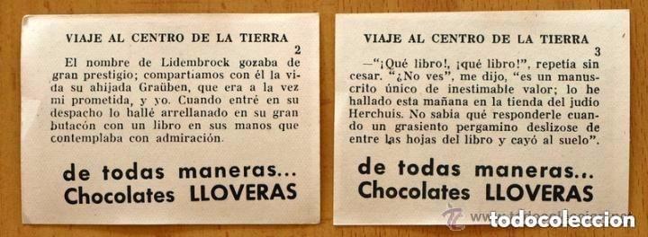 Coleccionismo Cromos antiguos: Viaje al centro de la tierra - Completa 162 cromos nuevos - Chocolate LLoveras 1958 - Foto 5 - 147066386