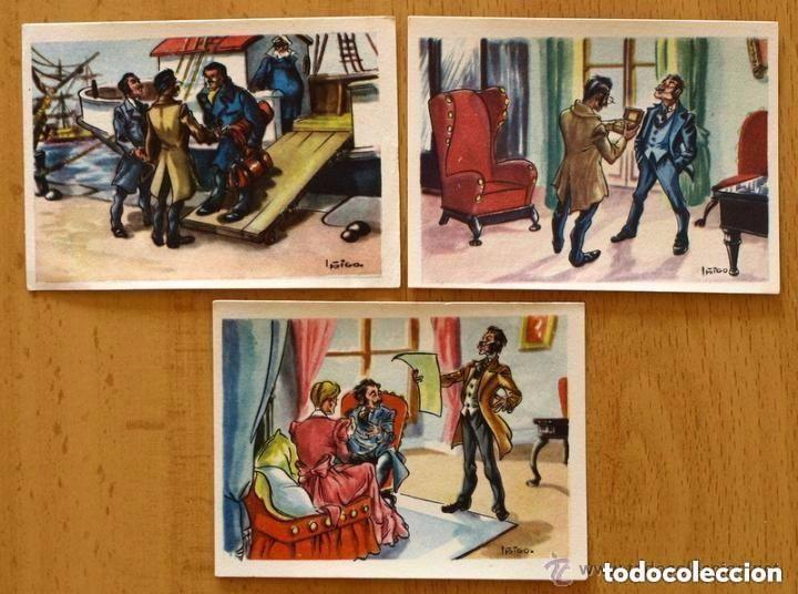 Coleccionismo Cromos antiguos: Viaje al centro de la tierra - Completa 162 cromos nuevos - Chocolate LLoveras 1958 - Foto 6 - 147066386