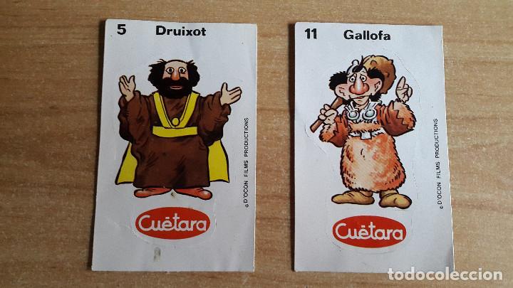 LOTE 2 CROMOS CUETARA AURONES - VER FOTO ADICIONAL (Coleccionismo - Cromos y Álbumes - Cromos Antiguos)