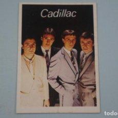 Collectionnisme Cartes à collectionner anciennes: CROMO DE CADILLAC SIN PEGAR Nº 105 AÑO 1984 DEL ALBUM SUPER MUSICAL DE EYDER. Lote 178061897