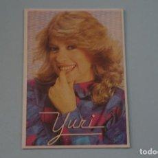 Collectionnisme Cartes à collectionner anciennes: CROMO DE YURI SIN PEGAR Nº 154 AÑO 1984 DEL ALBUM SUPER MUSICAL DE EYDER. Lote 194756478