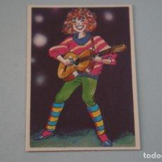 Collectionnisme Cartes à collectionner anciennes: CROMO DE GUITARRA SIN PEGAR Nº 179 AÑO 1984 DEL ALBUM SUPER MUSICAL DE EYDER. Lote 177339893