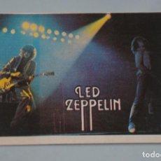 Coleccionismo Cromos antiguos: CROMO DE LED ZEPPELIN SIN PEGAR Nº 3 AÑO 1984 DEL ALBUM SUPER MUSICAL DE EYDER. Lote 194488002