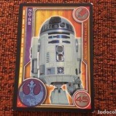 Coleccionismo Cromos antiguos: CARTA R2-D2 STAR WARS N37. Lote 147181602