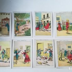 Coleccionismo Cromos antiguos: SERIE DE 8 CROMOS ANTIGUOS DIEGO CORRIENTES.. Lote 147507886