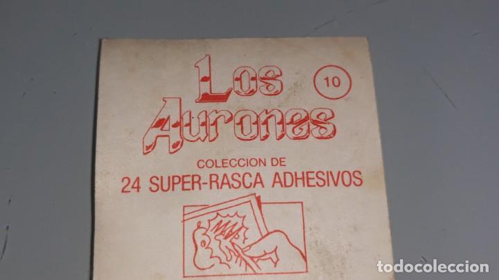 Coleccionismo Cromos antiguos: BIMBO : ANTIGUO CROMO Nº 10 DE LOS AURONES AÑOS 80 SIN PEGAR - Foto 4 - 147991202