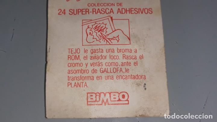 Coleccionismo Cromos antiguos: BIMBO : ANTIGUO CROMO Nº 10 DE LOS AURONES AÑOS 80 SIN PEGAR - Foto 5 - 147991202