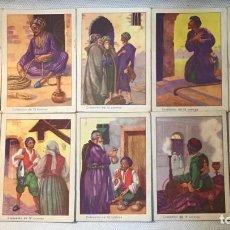 Coleccionismo Cromos antiguos: EL PEDAZO DE PLOMO, CROMOS AÑOS 30-40. Lote 148155686