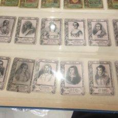 Coleccionismo Cromos antiguos: 21 CROMOS SERIE 19 DE J THOMAS MUJERES MONARQUIA EUROPEA. Lote 148625606