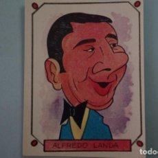 f3fdbc27d CROMO ALFREDO LANDA SIN PEGAR AUTOADHESIVAS Nº 144 AÑO 1987 DEL ALBUM  CARICATURAS 22 DE CROMOS ROS