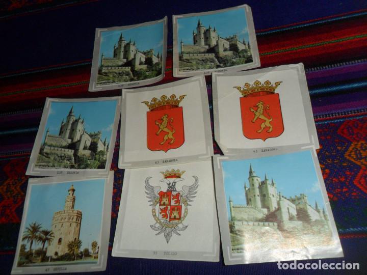 Coleccionismo Cromos antiguos: ÁLBUM DE ESPAÑA EN FOTO-CROMOS A TODO COLOR 37 CROMO NUNCA PEGADO, 3 RECUPERADOS. AMPLIADO 24-9-20. - Foto 4 - 148937590