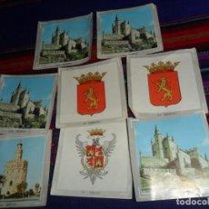 Coleccionismo Cromos antiguos: ÁLBUM DE ESPAÑA EN FOTO-CROMOS A TODO COLOR LOTE 8 CROMO NUNCA PEGADO, 3 RECUPERADOS. COLED 1967.. Lote 148937590