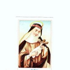 Coleccionismo Cromos antiguos: CROMO ST ROSA CHOCOLATES DE LOS MONJES BERNARDINO. Lote 148985582