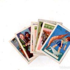 Coleccionismo Cromos antiguos: CHOCOLATES AMATLLER. LOTE DE 7 CROMOS. VER FOTOS.. Lote 149151938