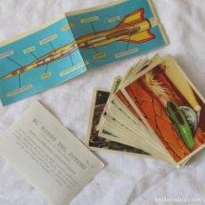 Coleccionismo Cromos antiguos: 37 CROMOS EL MUNDO DEL FUTURO. NUMEROS EN DESCRIPCIÓN. Lote 149594810