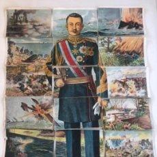 Coleccionismo Cromos antiguos: JAPÓN GRAN GUERRA 1914-1918. CHOCOLATES JAIME BOIX COMPLETA. CHANTECLER.. Lote 151255642