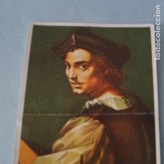 Coleccionismo Cromos antiguos: CROMO DE ARTE SIN PEGAR Nº 91 AÑO 1971 DEL ALBUM ARTE DE MAGA. Lote 151722706