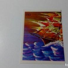 Coleccionismo Cromos antiguos: Nº193 LUZ DE PALATINE CROMO SIN PEGAR COLECCION MONSTRUOS REYAUCA AÑOS 80 NO ESTE MUNDICROMO PANINI. Lote 152062474