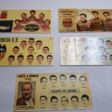 Coleccionismo Cromos antiguos: CROMOS CHOCOLATES BATANGA AÑO 1953-54 LOTE 5. Lote 152207409