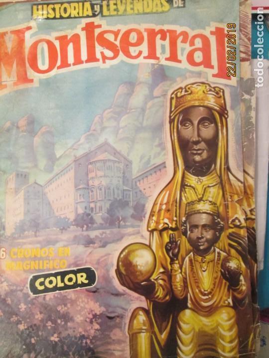 HISTORIA Y LEYENDAS DE MONTSERRAT LOTE TAMBIEN SUELTOS (Coleccionismo - Cromos y Álbumes - Cromos Antiguos)
