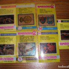 Colecionismo Cromos antigos: BIMBOVISIÓN,7 FILMINAS,DEFECTO,LEER DESCRIPCIÓN.. Lote 152523658
