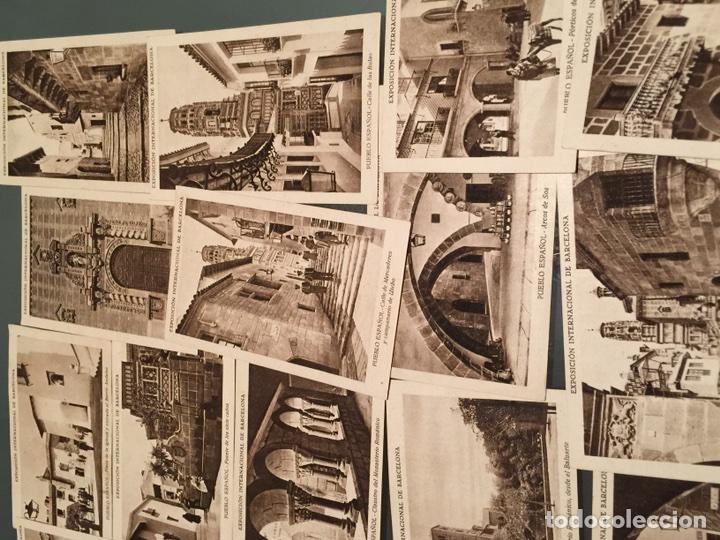 Coleccionismo Cromos antiguos: 19 cromos de colección antiguos Serie Pueblo Español - Foto 2 - 152569872