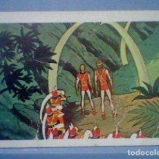 Coleccionismo Cromos antiguos: TARZAN FHER 1979 CROMO SIN PEGAR NUNCA Nº 115 *. Lote 152686790