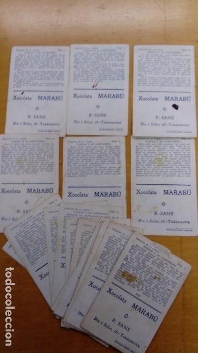 Coleccionismo Cromos antiguos: Colección de 21 cromos Tarzan y su Compañera - Foto 2 - 152800346