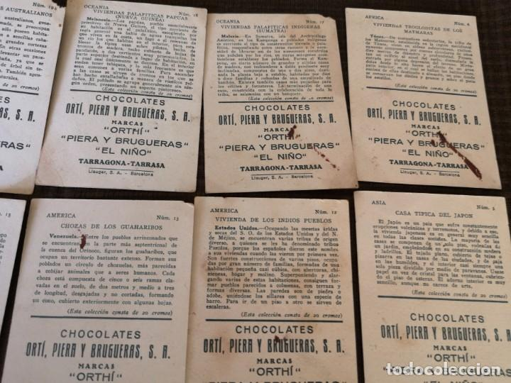 Coleccionismo Cromos antiguos: Chocolate Orti, Piera y brugueras S. A - Foto 4 - 153092398
