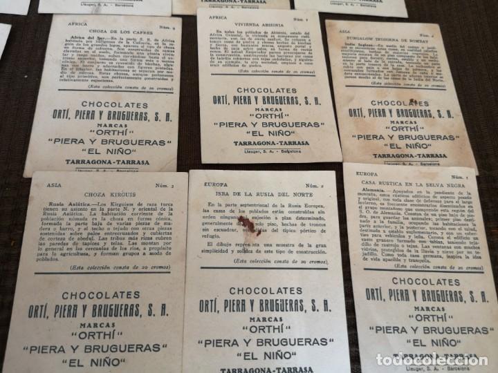 Coleccionismo Cromos antiguos: Chocolate Orti, Piera y brugueras S. A - Foto 5 - 153092398