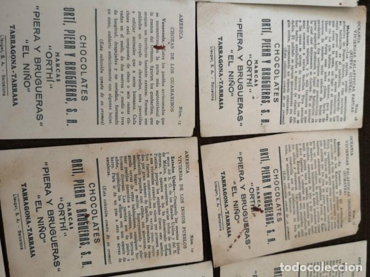 Coleccionismo Cromos antiguos: Chocolate Orti, Piera y brugueras S. A - Foto 7 - 153092398