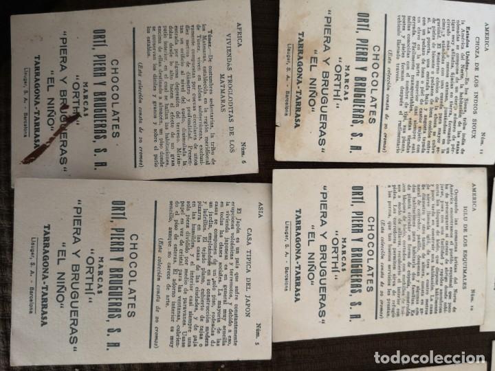 Coleccionismo Cromos antiguos: Chocolate Orti, Piera y brugueras S. A - Foto 8 - 153092398
