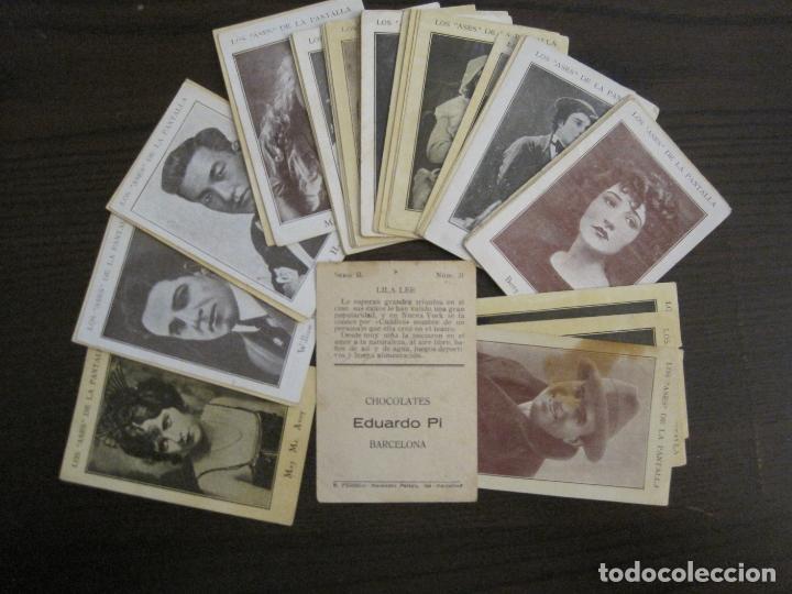 Coleccionismo Cromos antiguos: LOS ASES DE LA PANTALLA-COLECCION COMPLETA 32 CROMOS-CHOCOLATE EDUARDO PI-VER FOTOS-(V-16.016) - Foto 2 - 153384410