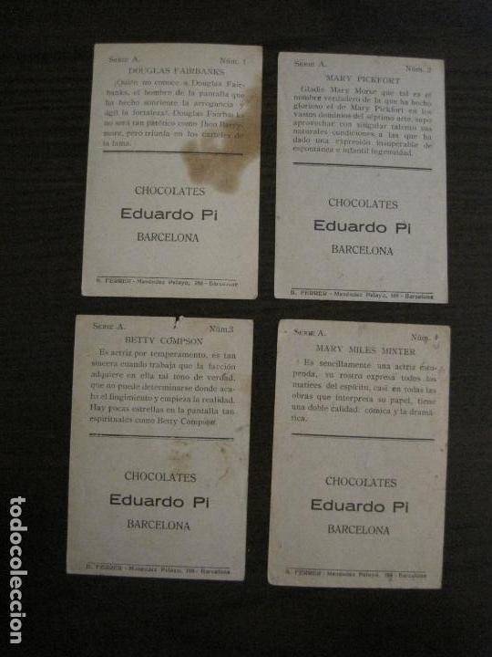 Coleccionismo Cromos antiguos: LOS ASES DE LA PANTALLA-COLECCION COMPLETA 32 CROMOS-CHOCOLATE EDUARDO PI-VER FOTOS-(V-16.016) - Foto 4 - 153384410