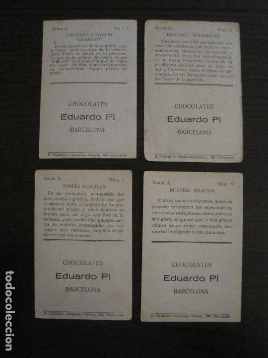 Coleccionismo Cromos antiguos: LOS ASES DE LA PANTALLA-COLECCION COMPLETA 32 CROMOS-CHOCOLATE EDUARDO PI-VER FOTOS-(V-16.016) - Foto 6 - 153384410